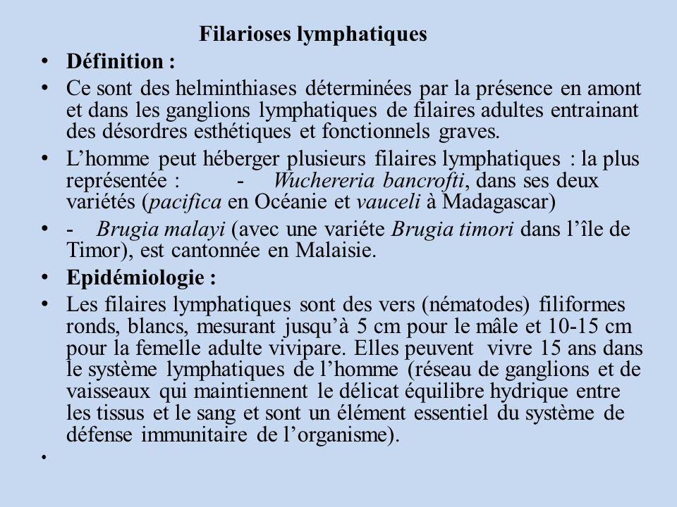 Filarioses lymphatiques