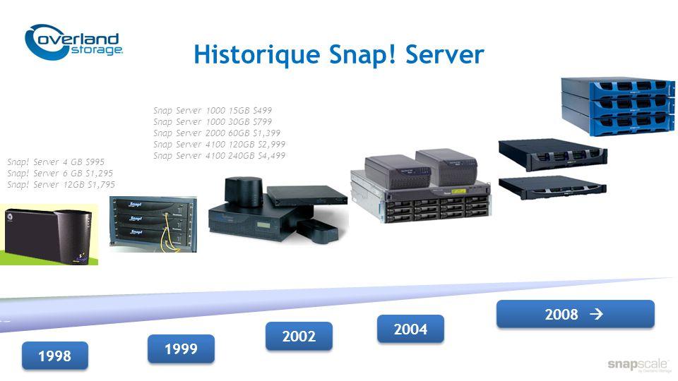 Historique Snap! Server