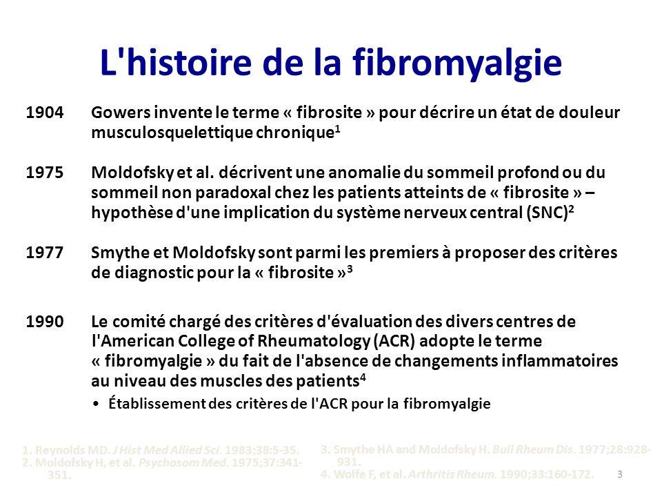 L histoire de la fibromyalgie