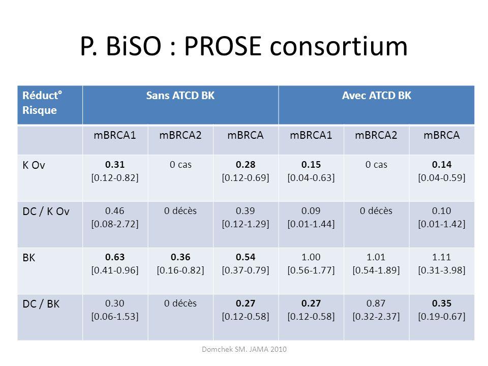 P. BiSO : PROSE consortium