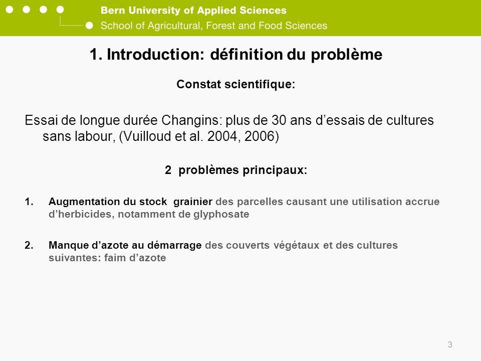 1. Introduction: définition du problème
