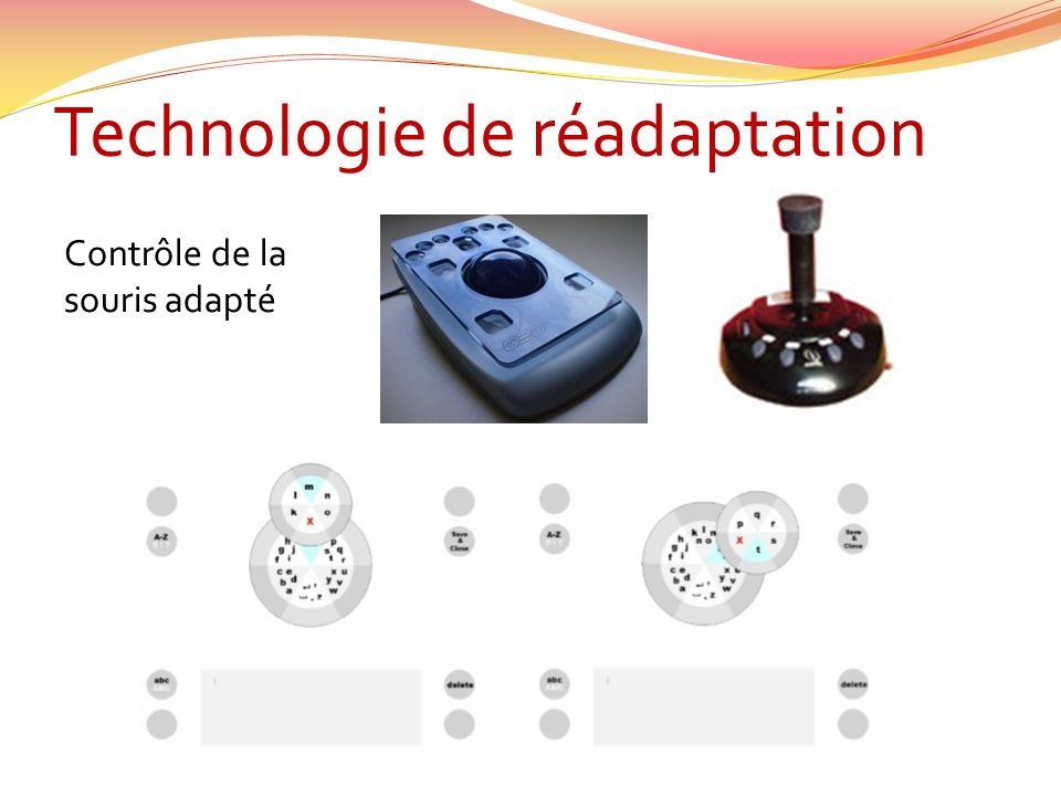 Technologie de réadaptation