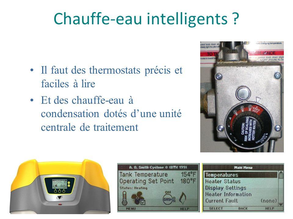 Régler la température de la cuve en réglant le thermostat