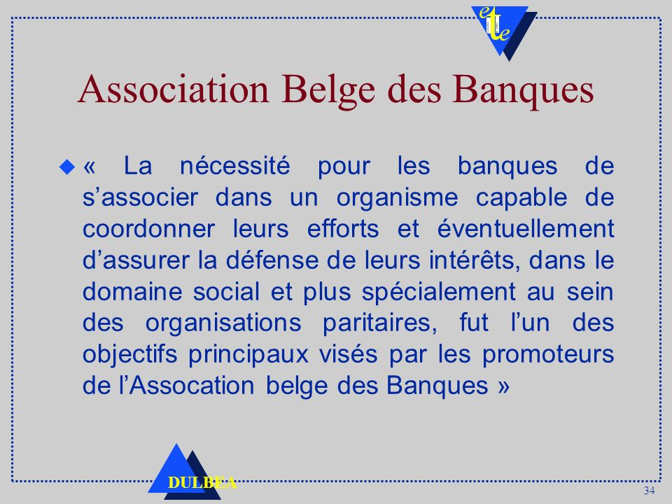 Association Belge des Banques