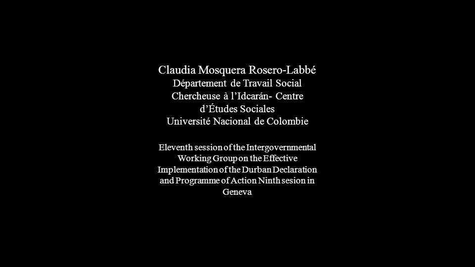 Claudia Mosquera Rosero-Labbé