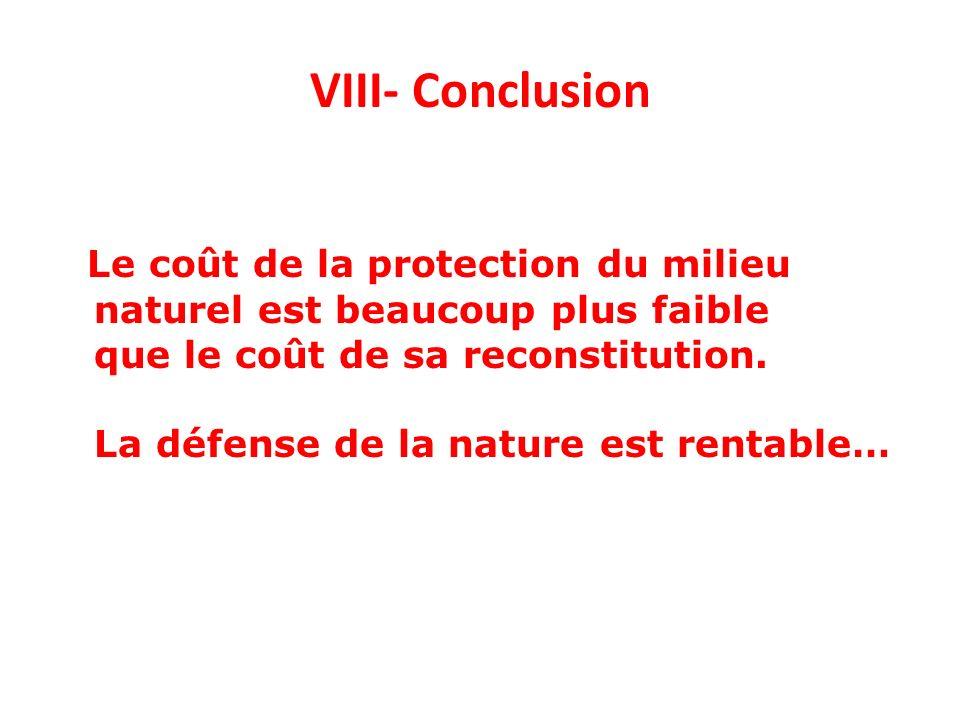 VIII- Conclusion