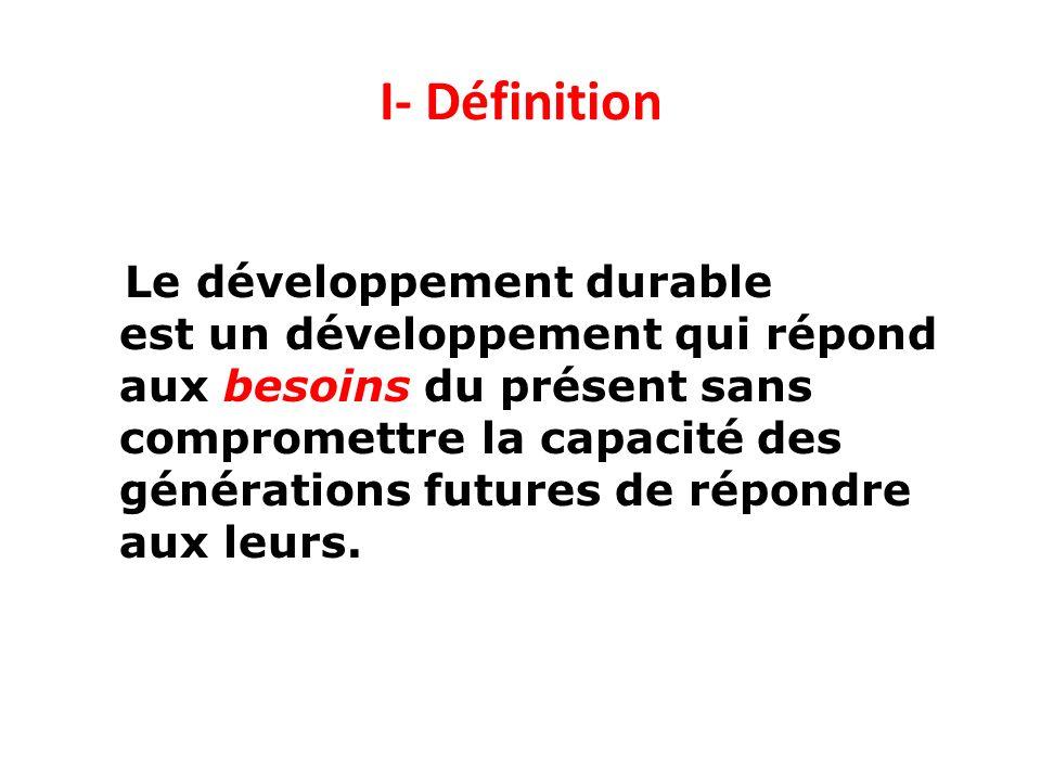 I- Définition