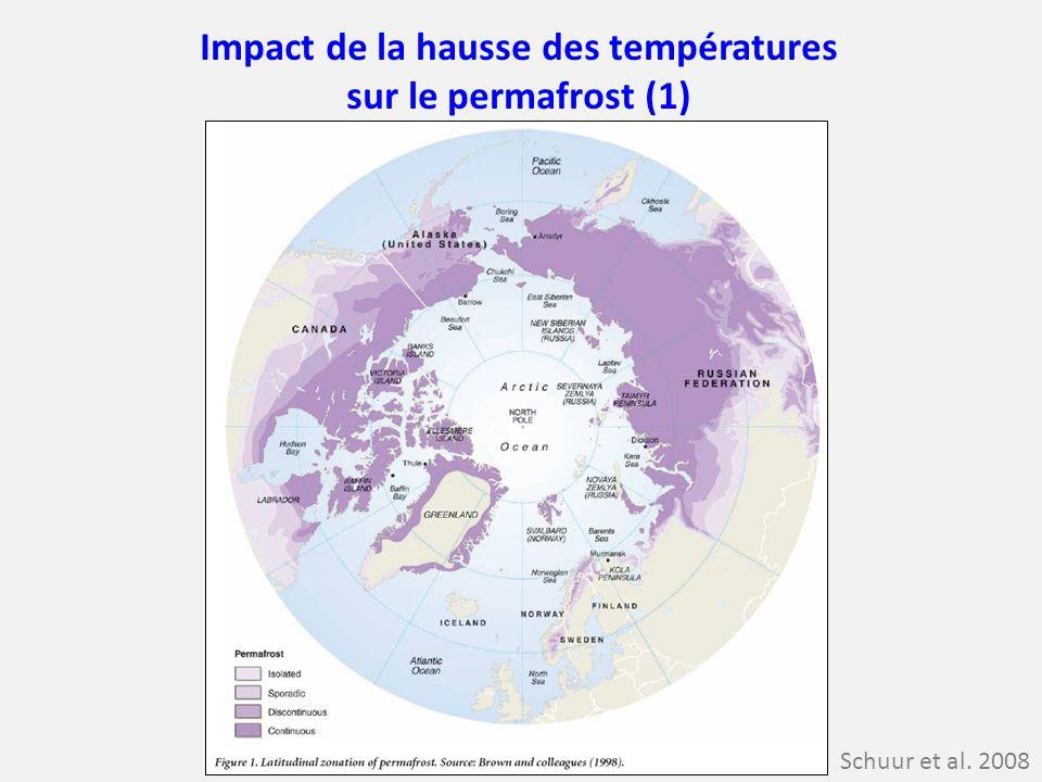 Impact de la hausse des températures sur le permafrost (1)