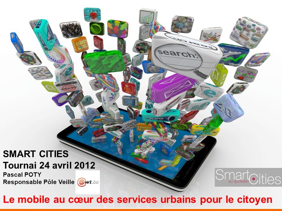 Le mobile au cœur des services urbains pour le citoyen