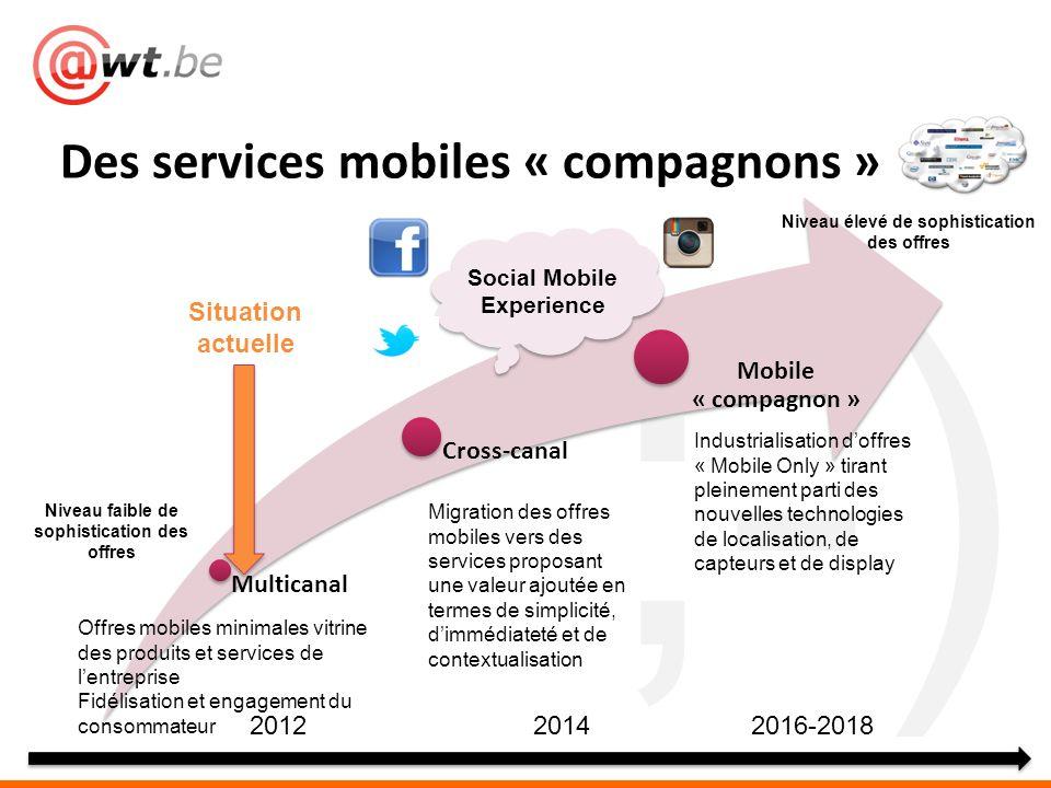 Des services mobiles « compagnons »
