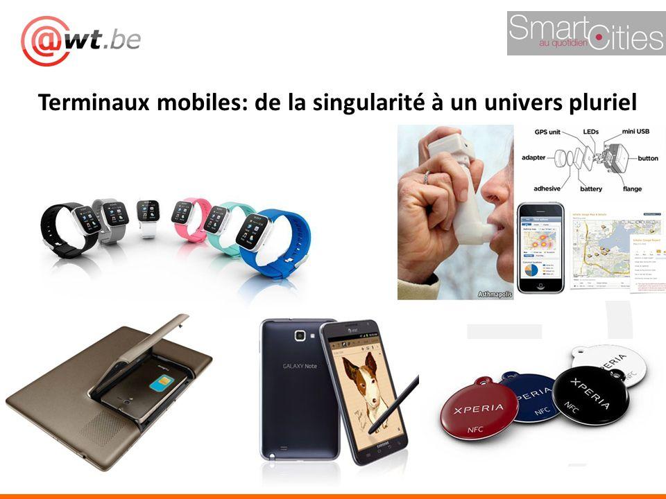 Terminaux mobiles: de la singularité à un univers pluriel