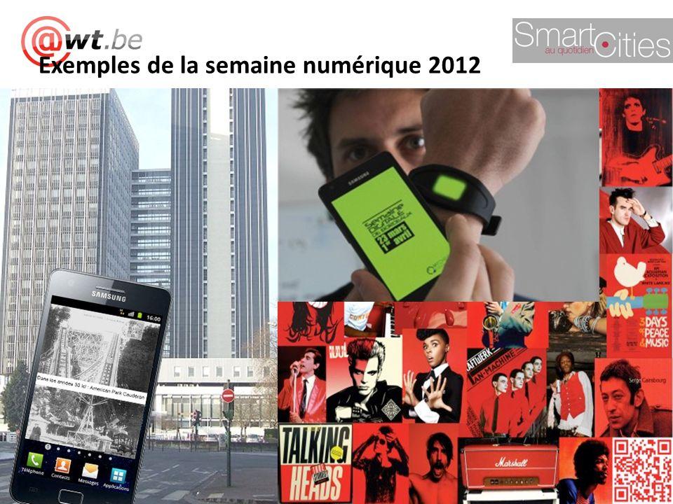 Exemples de la semaine numérique 2012