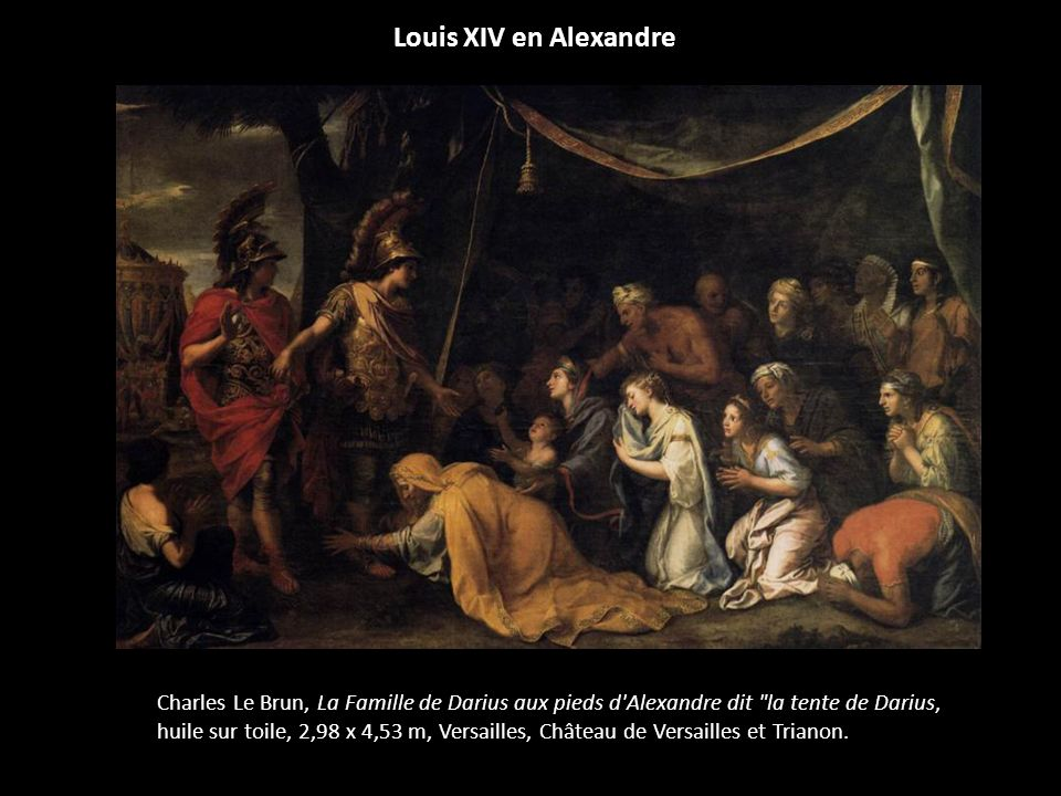 Louis XIV en Alexandre
