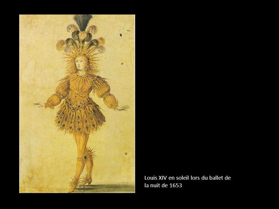 Louis XIV en soleil lors du ballet de la nuit de 1653