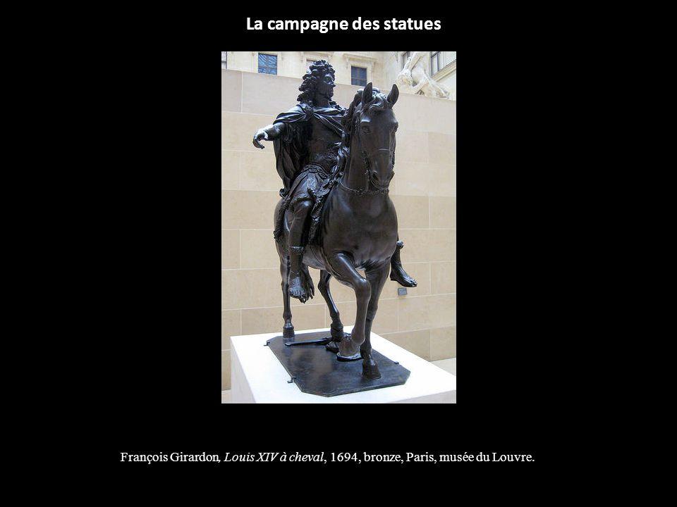 La campagne des statues