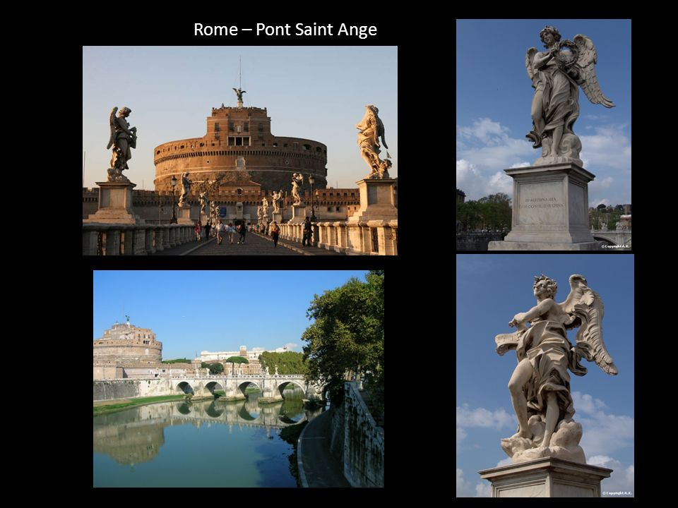 Rome – Pont Saint Ange