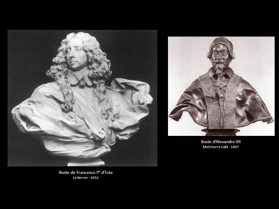 Buste de Francesco Ier d'Este