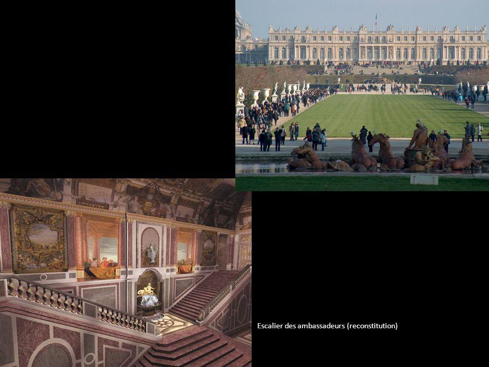 Escalier des ambassadeurs (reconstitution)
