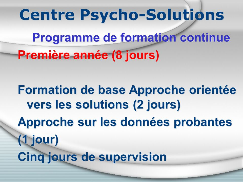 Centre Psycho-Solutions