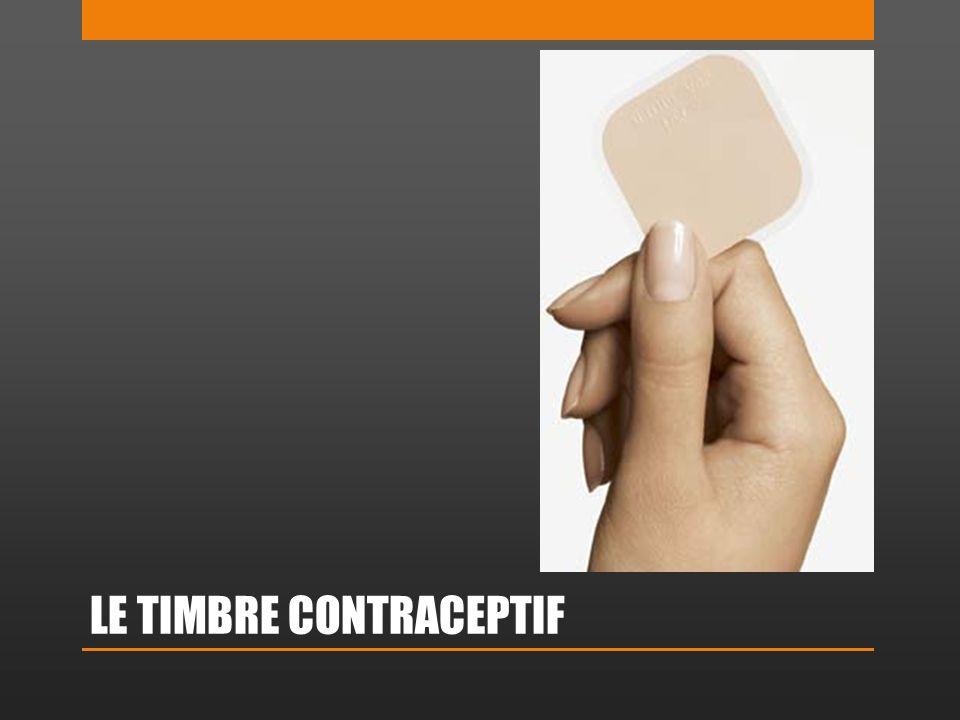 LE TIMBRE CONTRACEPTIF
