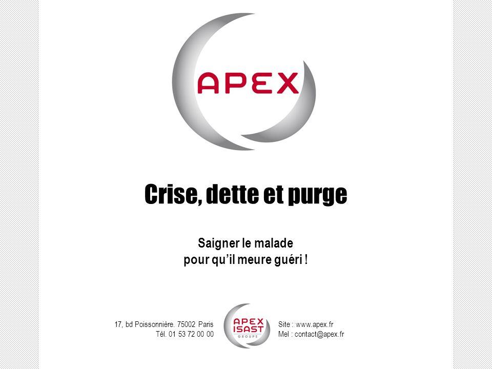 Crise, dette et purge Crise, dette et purge. « La douloureuse » : une boule de neige en forme de facture.