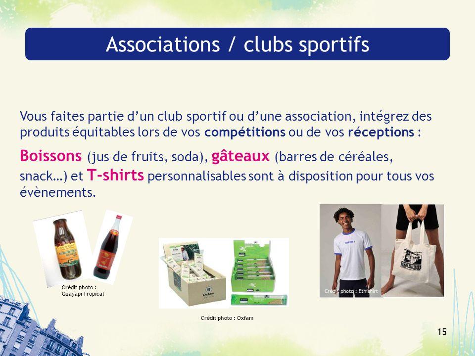 Associations / clubs sportifs