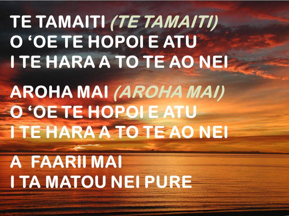 TE TAMAITI (TE TAMAITI)