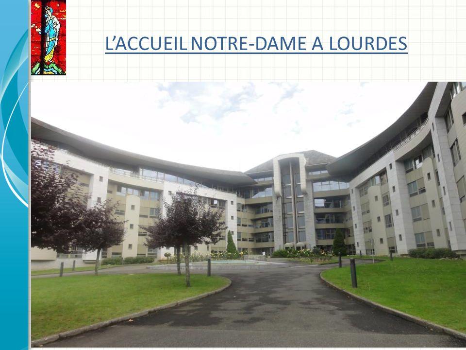 L'ACCUEIL NOTRE-DAME A LOURDES