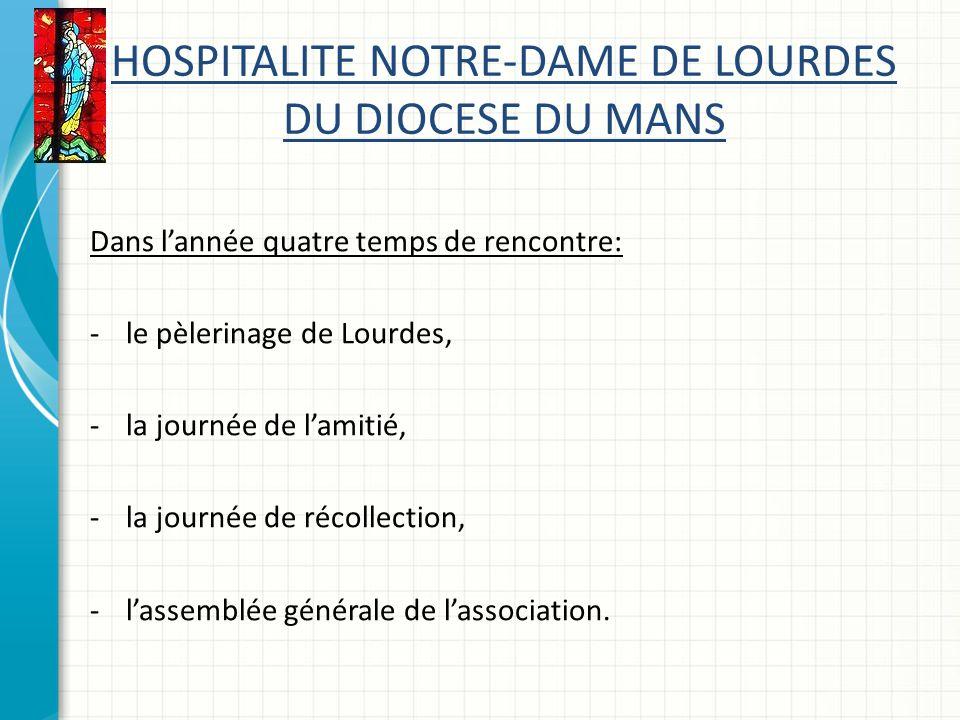HOSPITALITE NOTRE-DAME DE LOURDES DU DIOCESE DU MANS