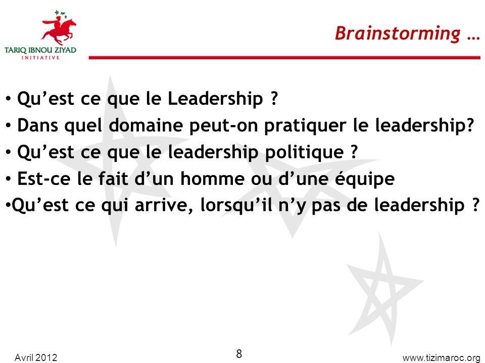 Qu'est ce que le Leadership