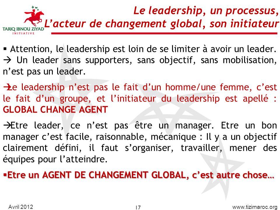 Le leadership, un processus,