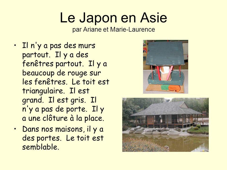 Le Japon en Asie par Ariane et Marie-Laurence