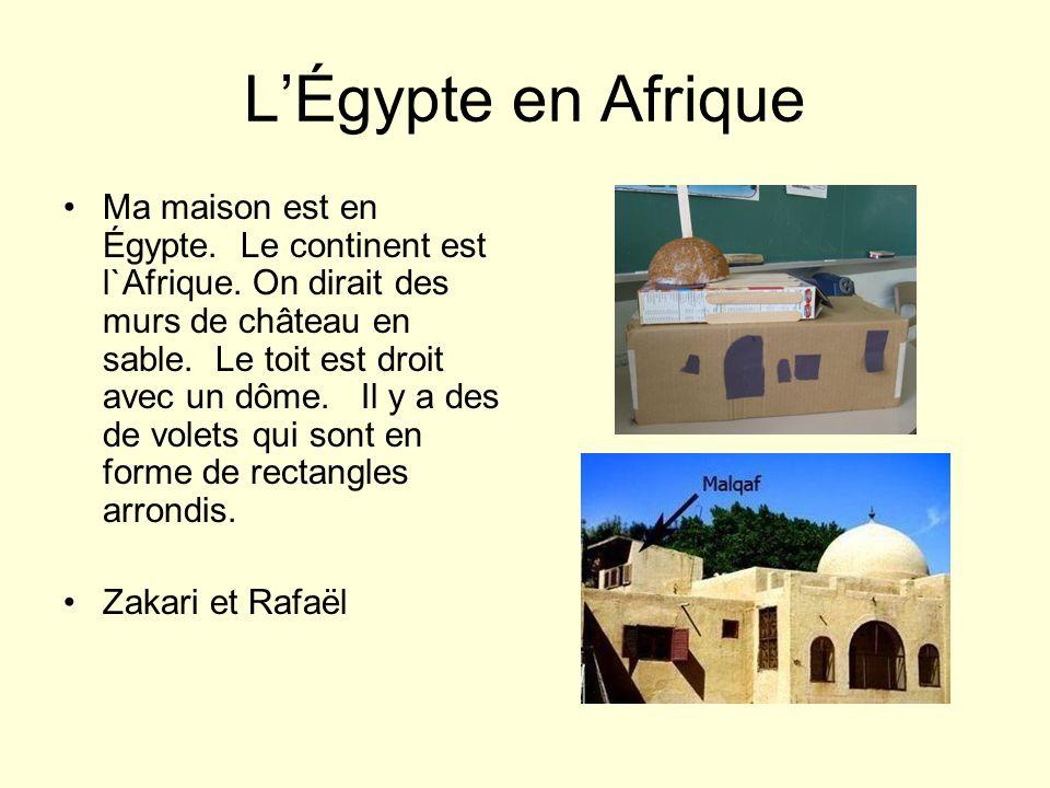L'Égypte en Afrique