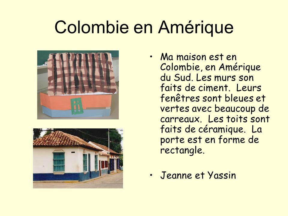 Colombie en Amérique