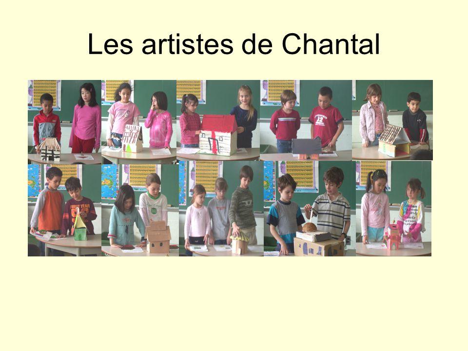 Les artistes de Chantal