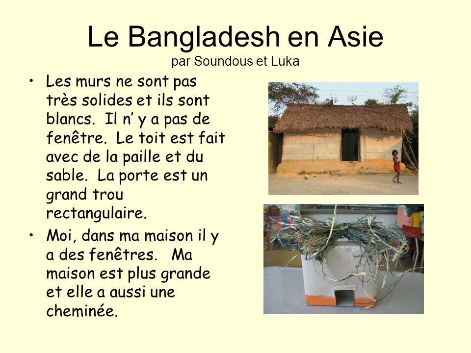 Le Bangladesh en Asie par Soundous et Luka