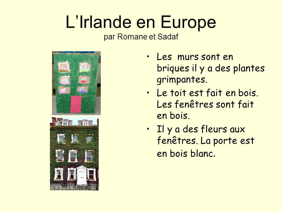 L'Irlande en Europe par Romane et Sadaf