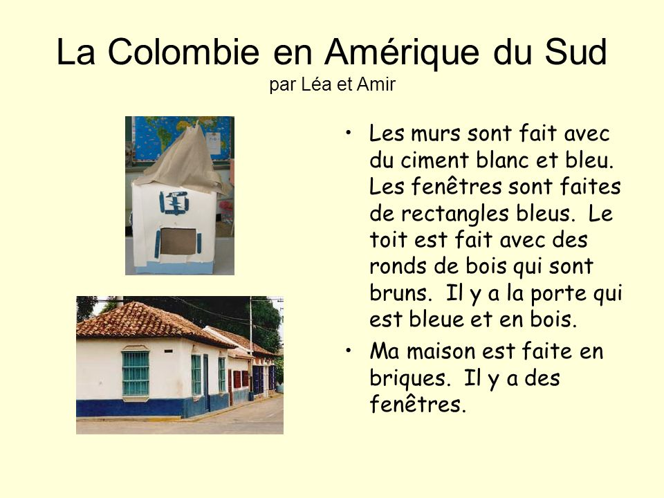 La Colombie en Amérique du Sud par Léa et Amir
