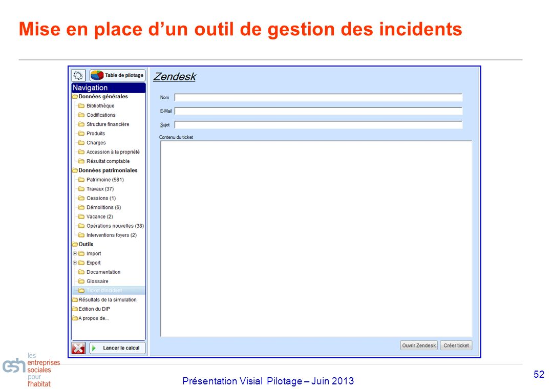 Mise en place d'un outil de gestion des incidents