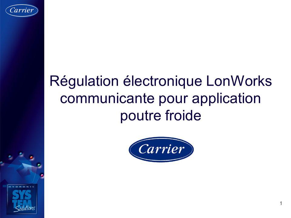 Régulation électronique LonWorks communicante pour application poutre froide
