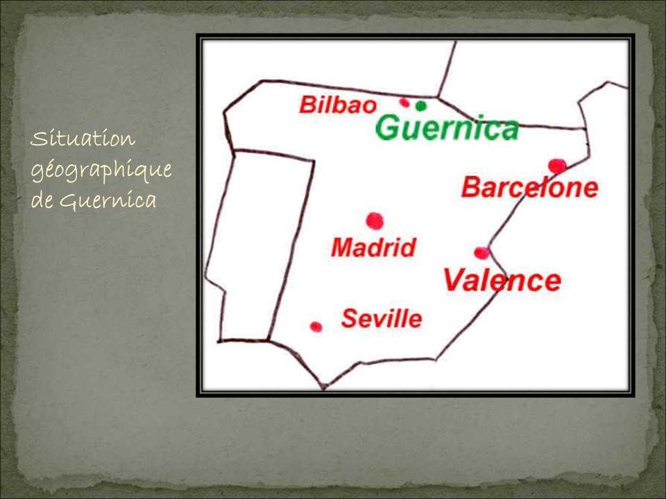 Situation géographique de Guernica