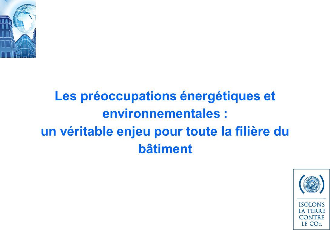 Les préoccupations énergétiques et environnementales :