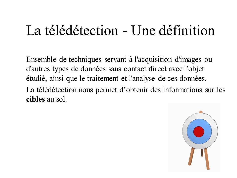 La télédétection - Une définition