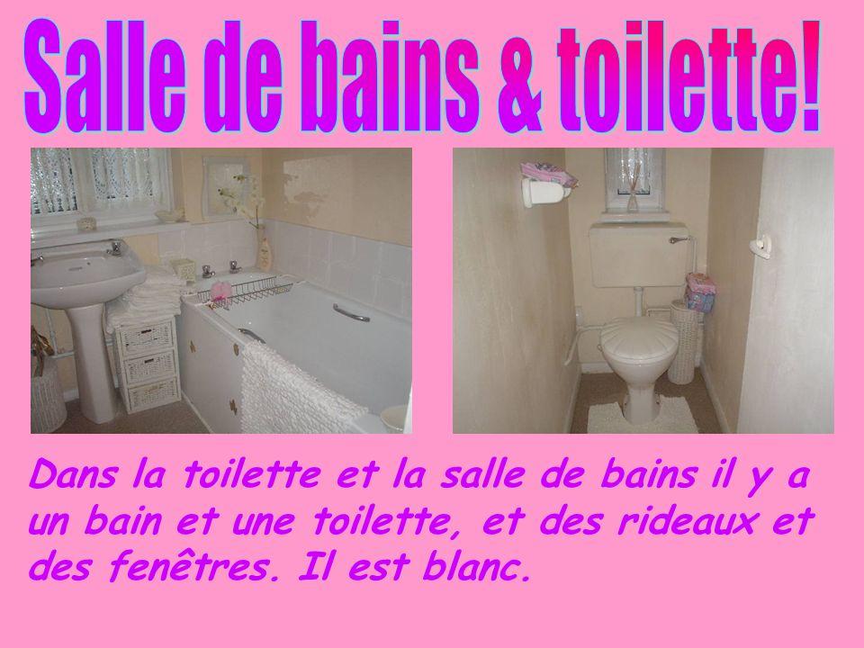 Salle de bains & toilette!