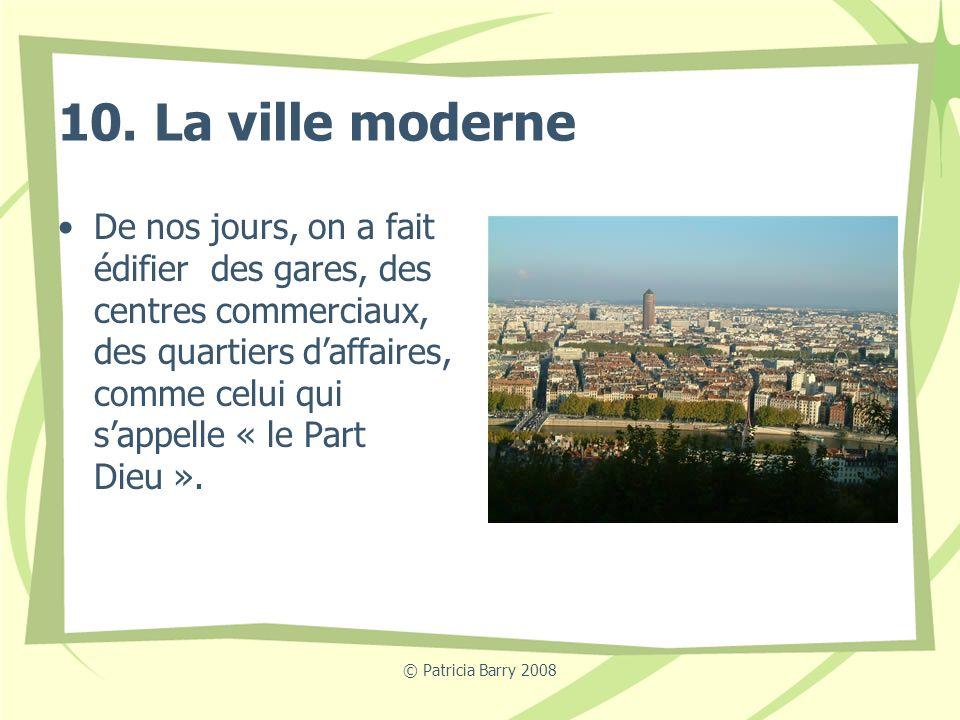 10. La ville moderne