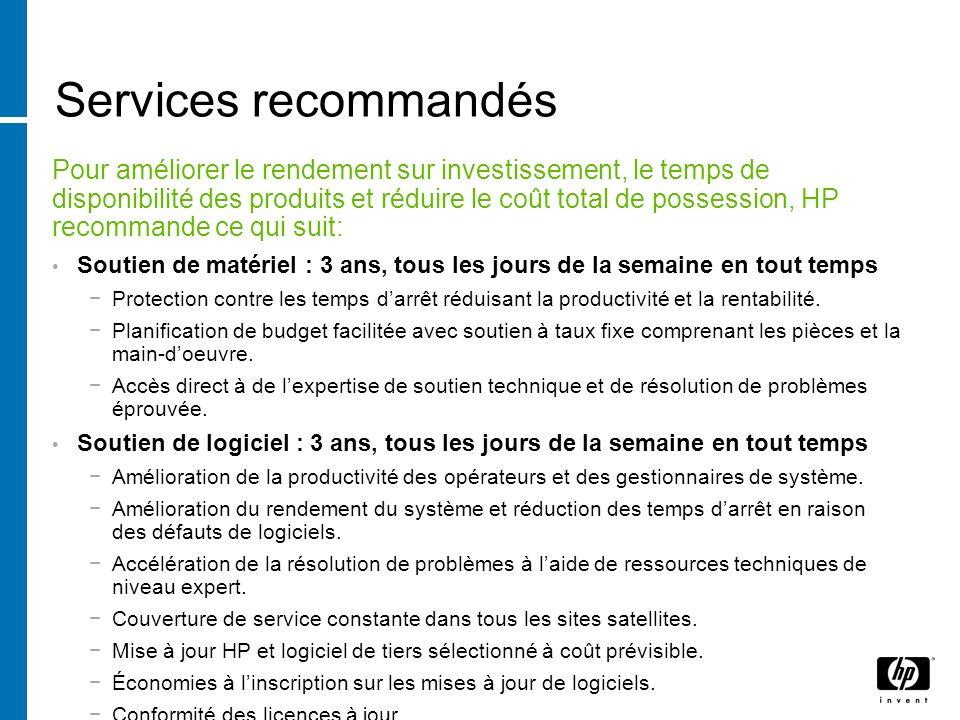 Services recommandés