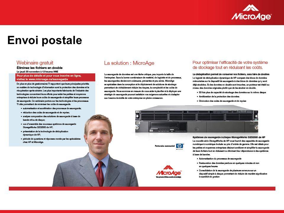 Envoi postale