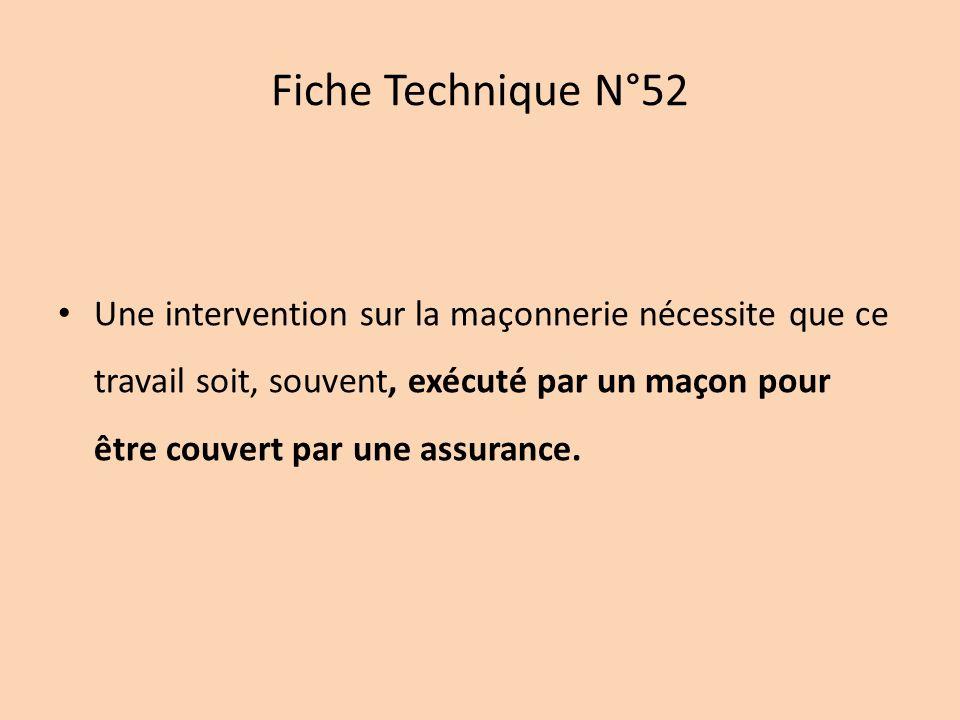 Fiche Technique N°52