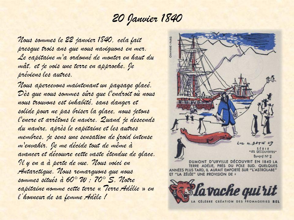 20 Janvier 1840