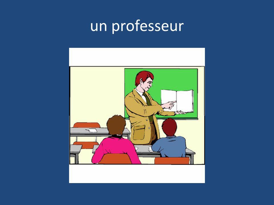 un professeur